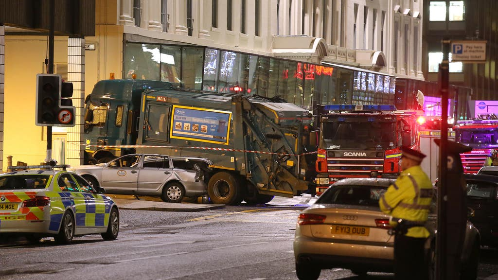 Bin lorry disaster: Glasgow's George Square in 2014.