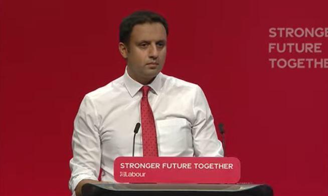 The Scottish Labour leader said that England is Marcus Rashford, Gareth Southgate and Emma Raducanu.