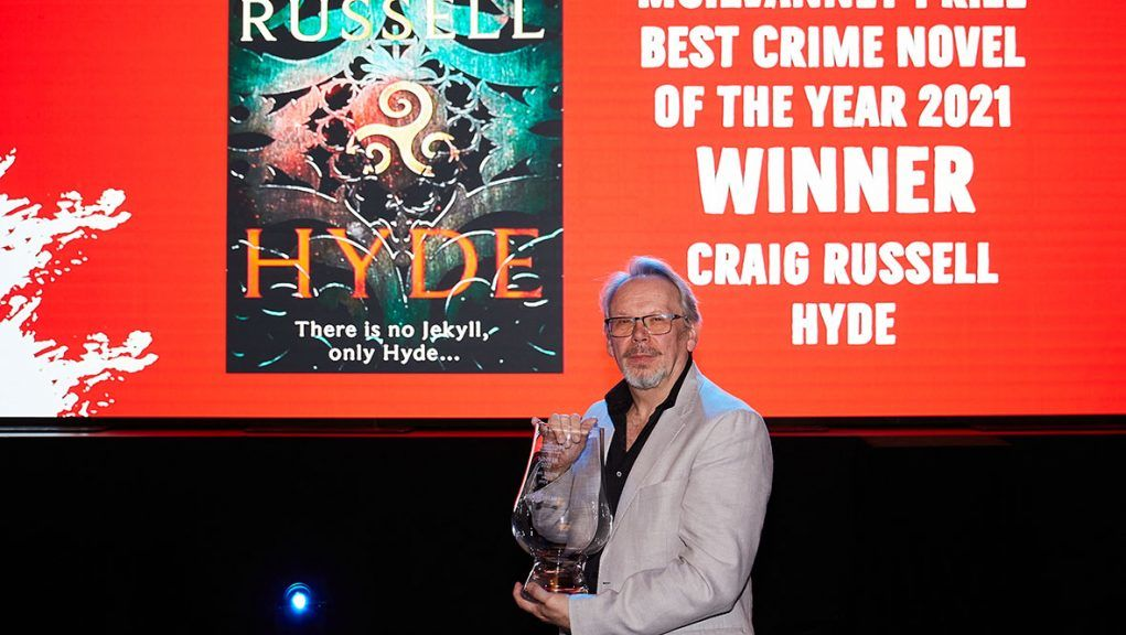 Craig Russell won the McIlvanney Prize for his book Hyde.