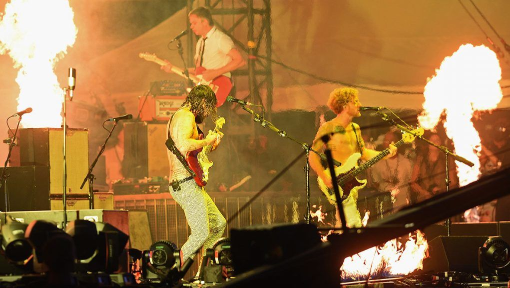 Biffy Clyro are among the nominees for Scottish Album of the Year.