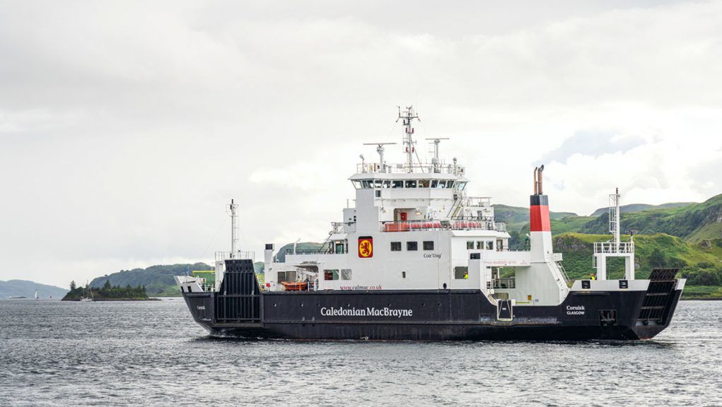 CalMac is urging passengers to wear face coverings on board its vessels.