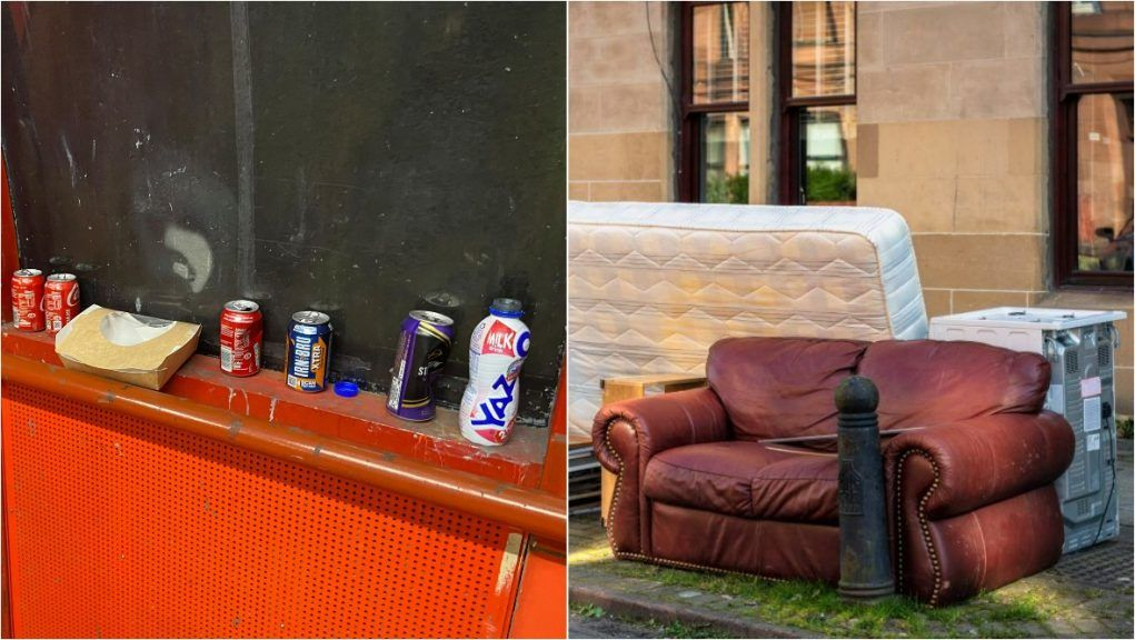 GMB: Demand for more refuse collectors to help tidy up Glasgow.