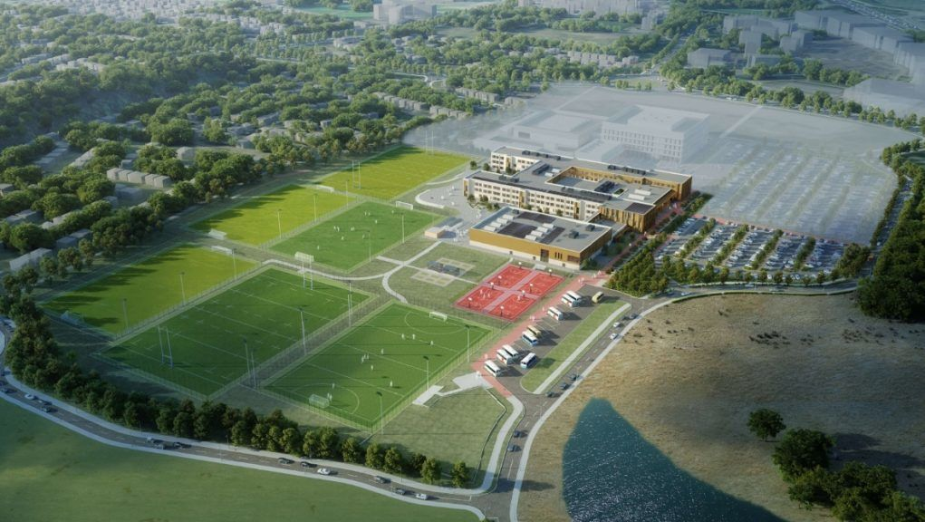 Dunfermline Learning Campus: Fully detailed planning applications have now been submitted to Fife Council.