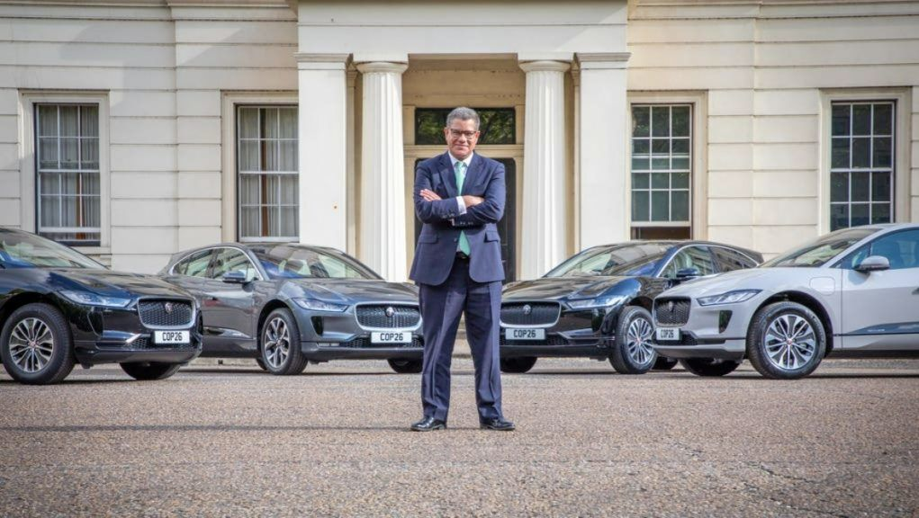 COP26: Jaguar Land Rover will provide the fleet for the climate talks in November.