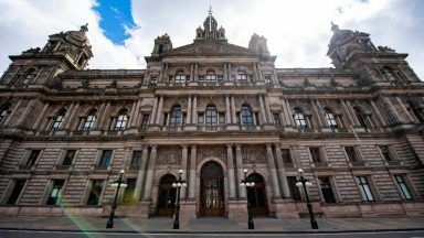 Glasgow City Chambers, home to Glasgow City Council.