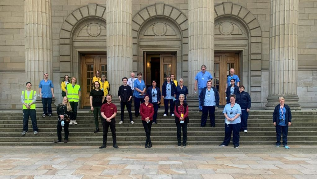 Caird Hall: NHS Tayside staff are now preparing to move on to the next stage of the Covid-19 vaccine rollout.