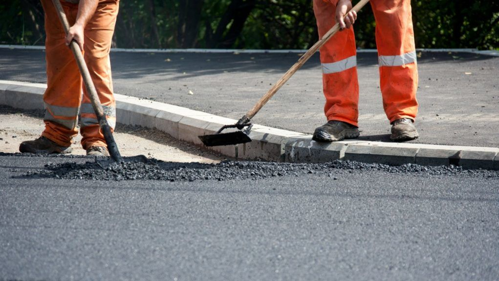 Roadworks: More than 300 locals backed a petition to North Ayrshire Council.