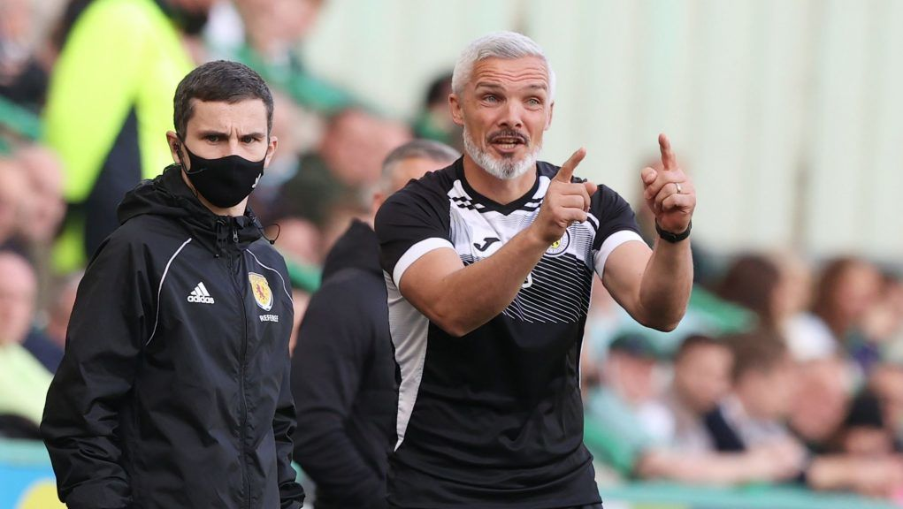 Goodwin saw his side come back from 2-1 down to draw at Easter Road.