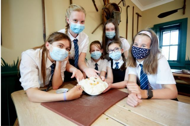 Food For The Future: Pupils from Wallace House Academy take part in the programme.