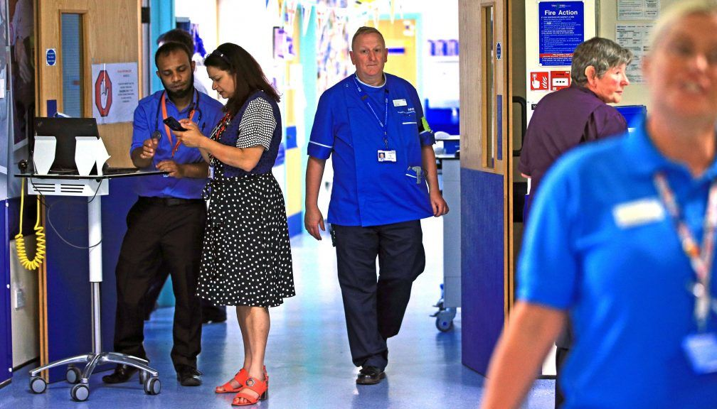 A&E waiting time standard has fallen to the worst level on record.