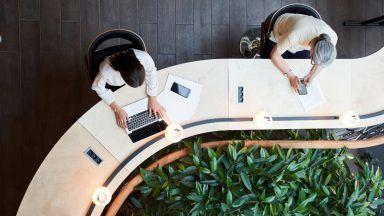 Workforce stock image.