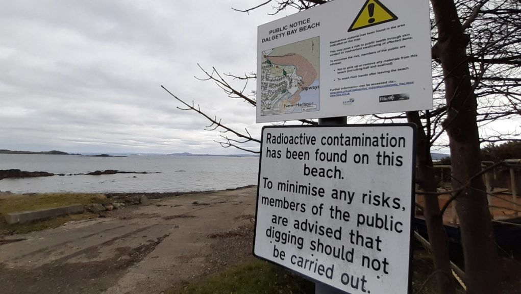 Dalgety Bay: The clean-up is on track to be completed by 'the end of September 2022'.