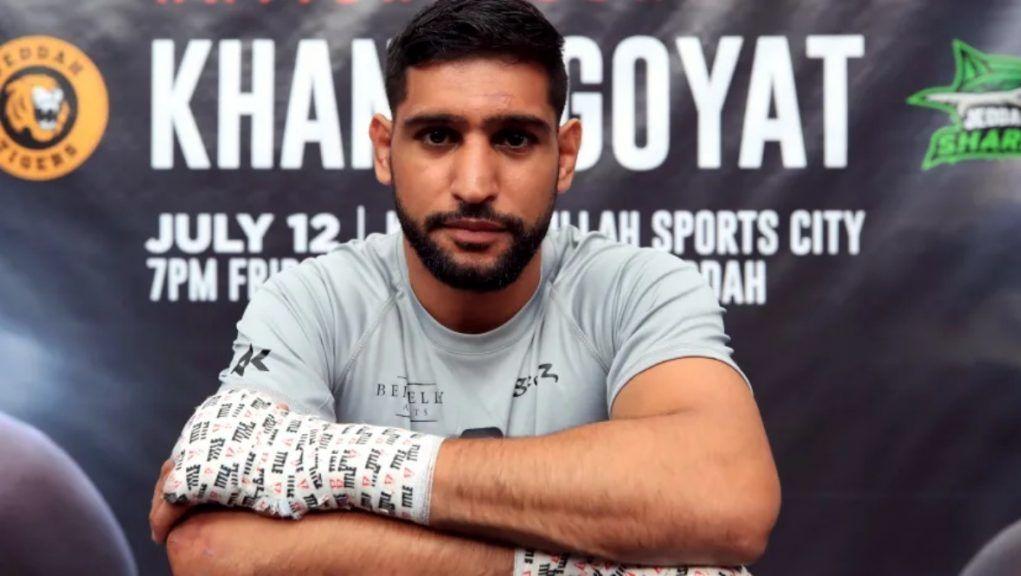 Amir Khan in June 2019.