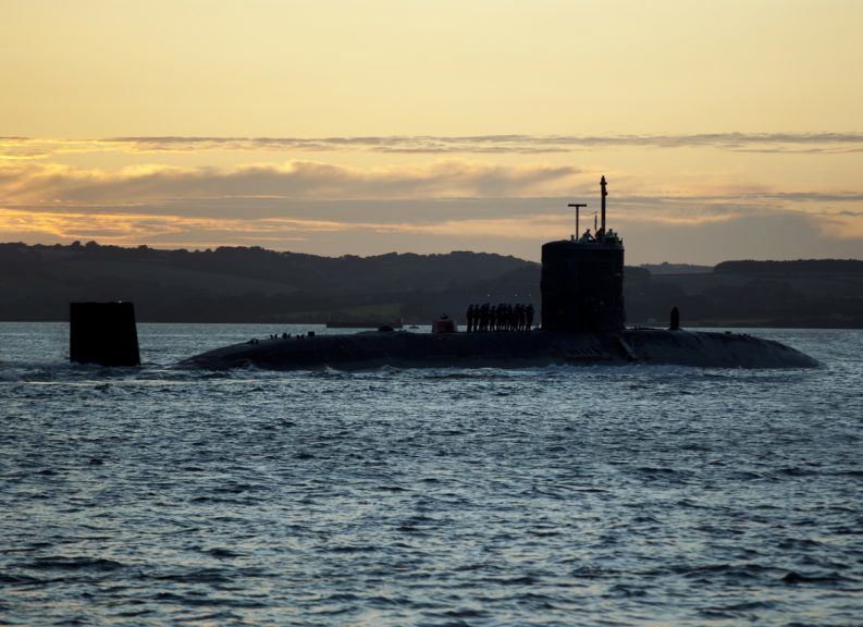 Faslane: Naval base workers launch industrial action.