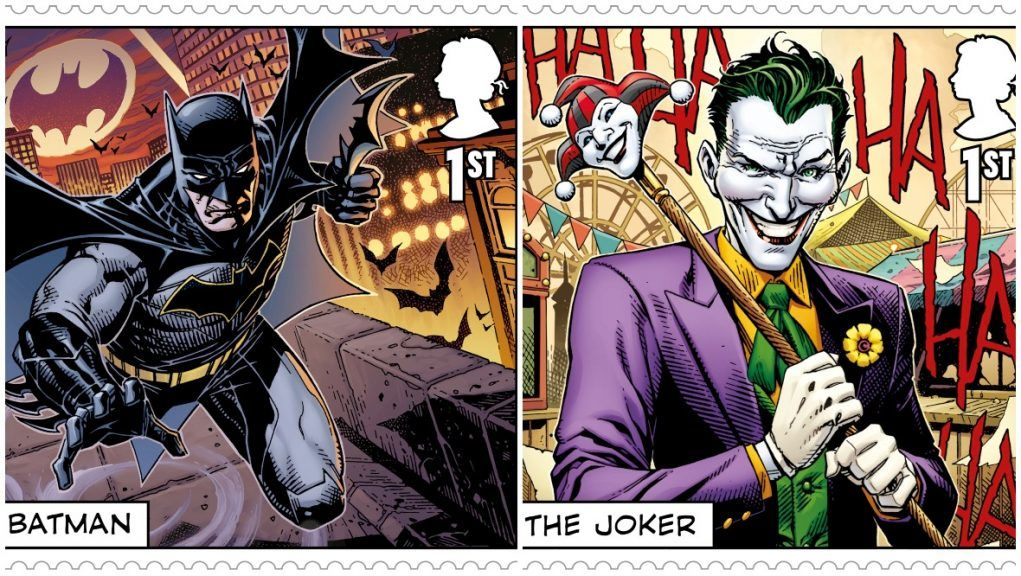 Stamps: DC comic book characters to feature on set of stamps.