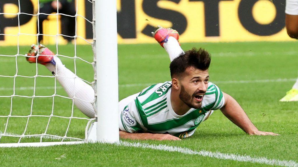 Albian Ajeti scored twice against Ross County on Saturday.