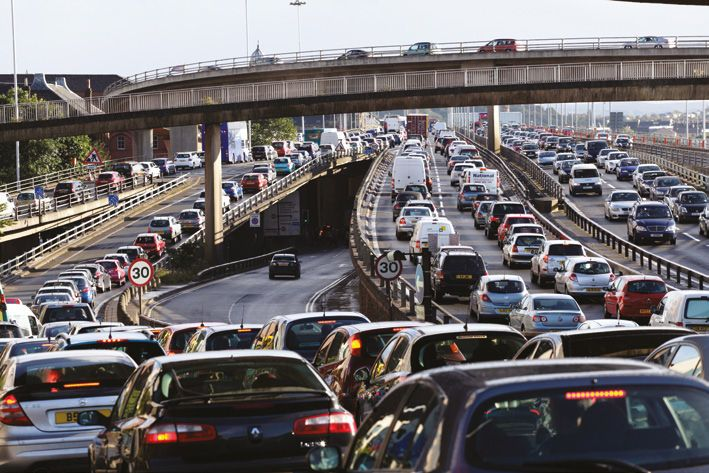 The city's motorway network, already the busiest in the country, is expected to be
