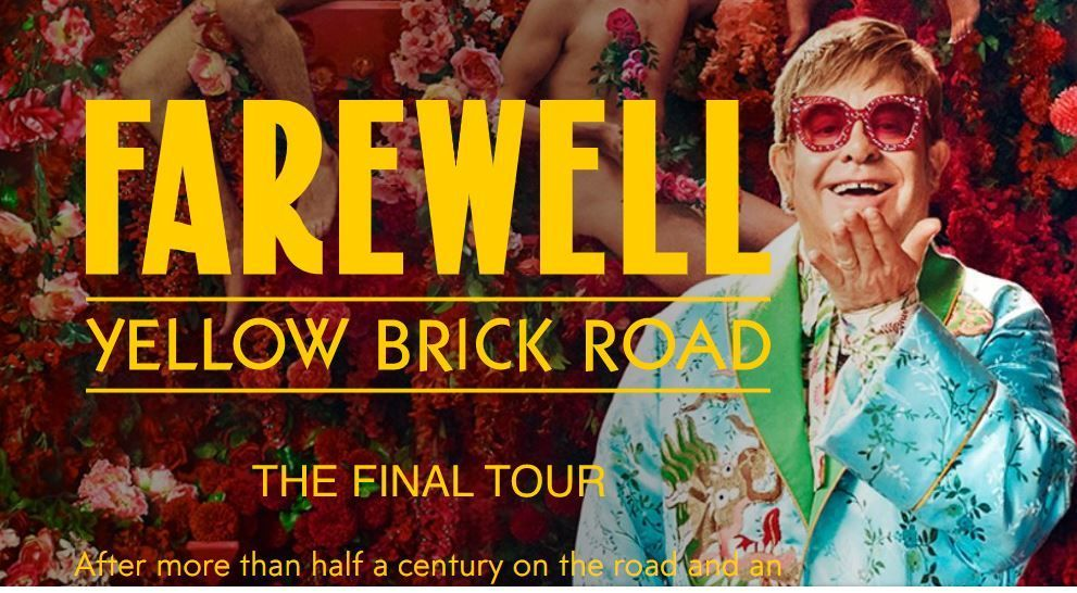 His Farewell Yellow Brick Tour is due to recommence in January 2022 in New Orleans, and will run until summer 2023.