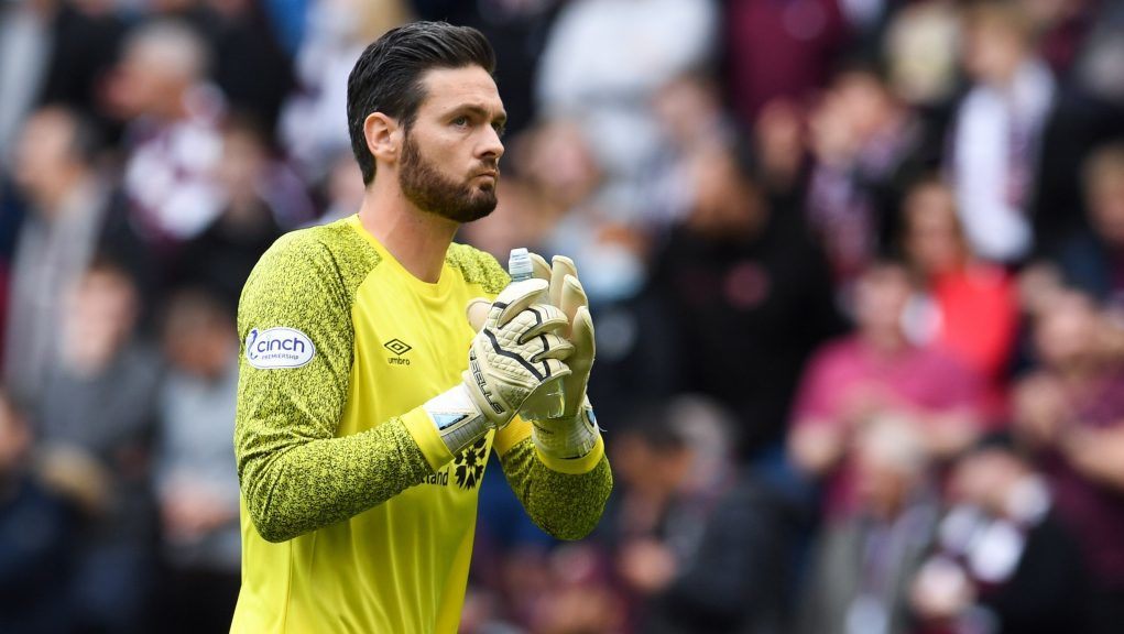 Gordon played his part as Hearts drew 0-0 with Hibs on Sunday.
