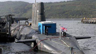 Nuclear sub.