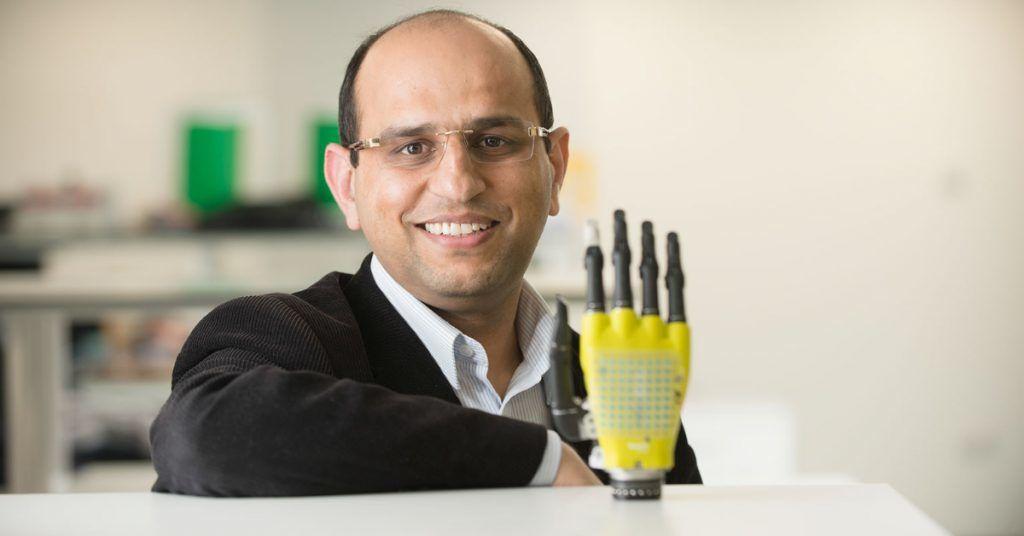 Professor Ravinder Dahiya of the University of Glasgow's James Watt School of Engineering.