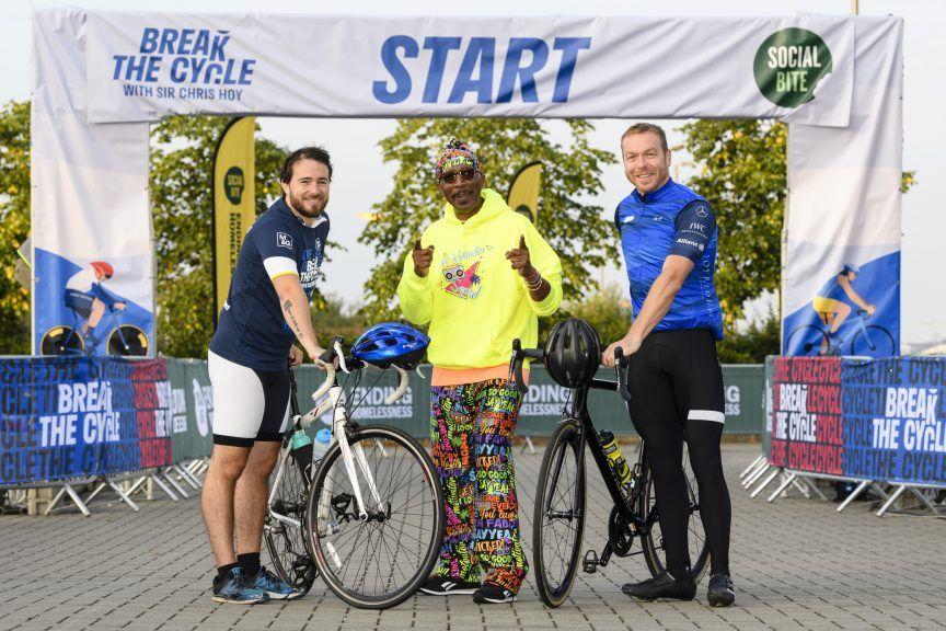 Break the Cycle: Josh Littlejohn MBE, TV fitness guru Mr Motivator and Sir Chris Hoy.