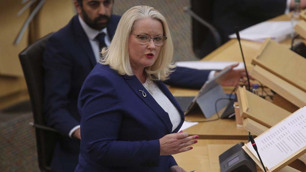 SNP MSP Christina McKelvie stepped aside from her ministerial role earlier this year to receive treatment.