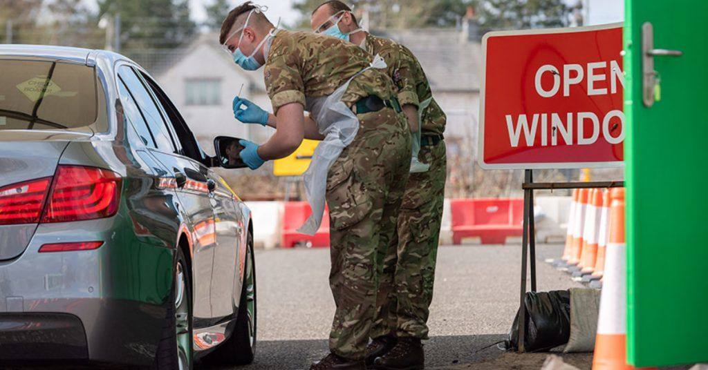 The Ministry of Defence confirmed it had been requested to support to deal with a crisis in ambulance waiting times.