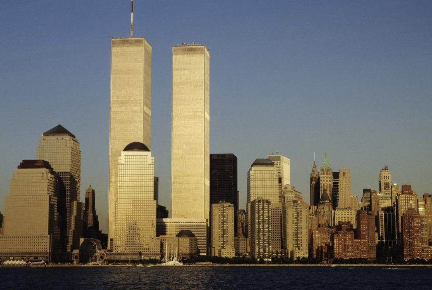 Trade Centre: Couple met amid chaos of 9/11.
