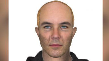 Police Scotland, e-fit image, attempted robbery in Glasgow.