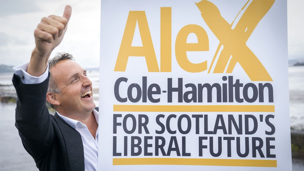 Cole-Hamilton: Hinted at coalition with Scottish Labour.