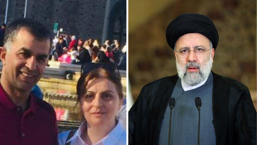 Ahmad Ebrahimi and Farzaneh Majidi lost family and friends to executions and called for President Raisi to be arrested.