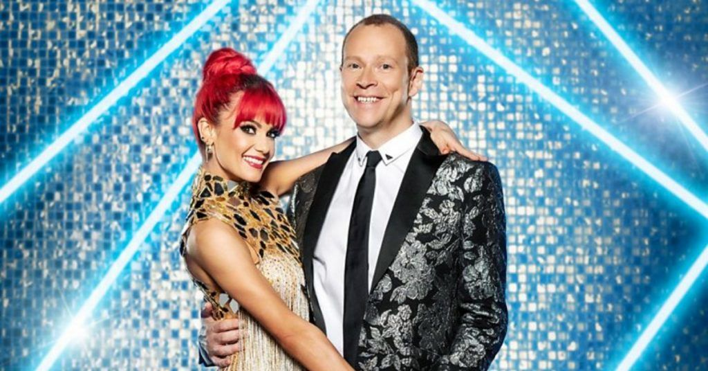 Webb, 49, was partnered with Dianne Buswell in the show.