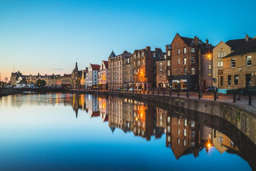 Leith: Ranked as the fourth coolest neighbourhood in the world.