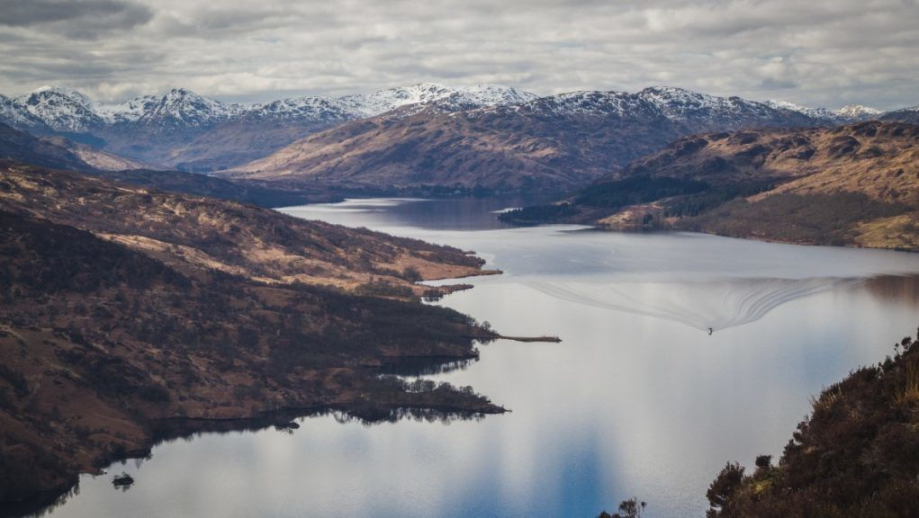 Works: Loch Katrine will provide drinking water for world leaders at COP26.