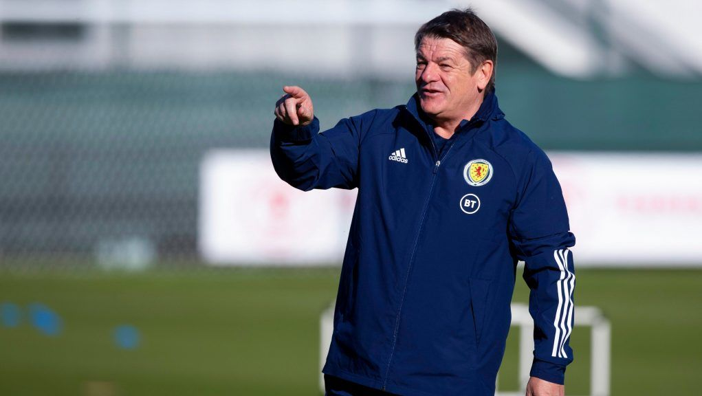 Carver is eagerly anticipating his first experience of a sold-out Hampden.