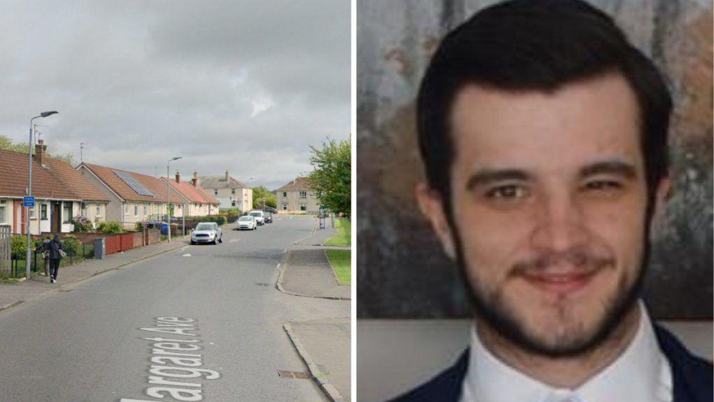 Sean McKay was killed on St Margaret Avenue in Dalry.