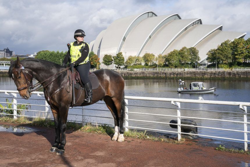 Firearms officers, dog handlers, mounted branch, search teams and the marine unit will all be used.