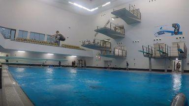 Diving at Aberdeen Sports Village.