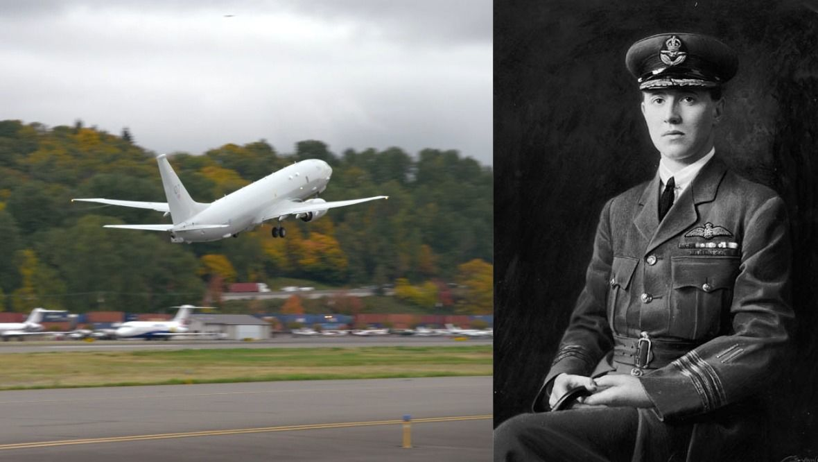 The Poseidon maritime patrol aircraft – based at RAF Lossiemouth – will now be known as William Barker VC.