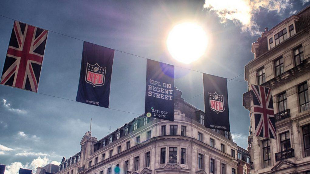 NFL: American football returned to London.