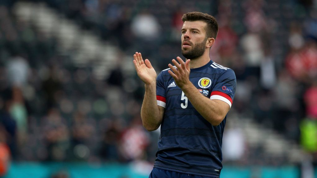 Grant Hanley missed the win over Israel through suspension.
