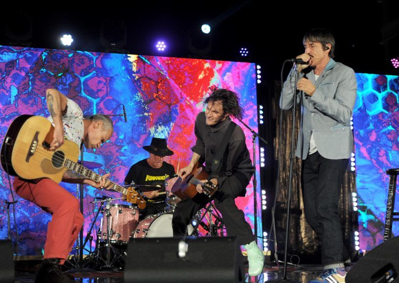 Tour: Red Hot Chili Peppers head to Glasgow next summer.
