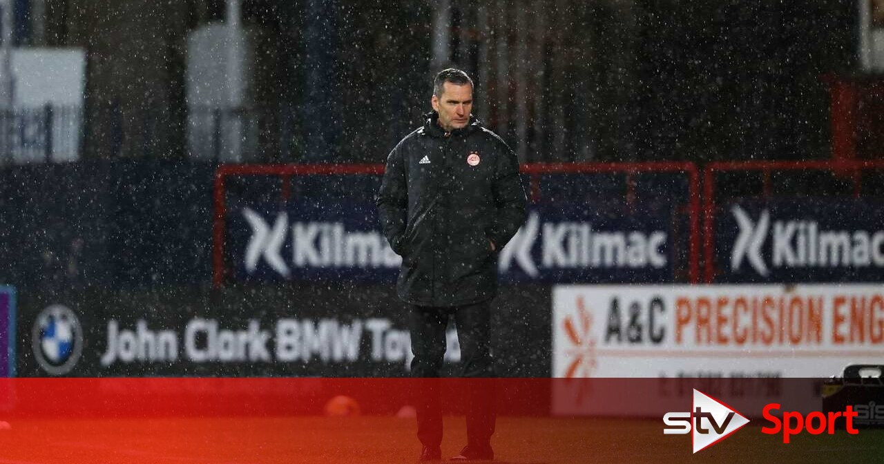 Aberdeen boss Glass admits his job could be on the line