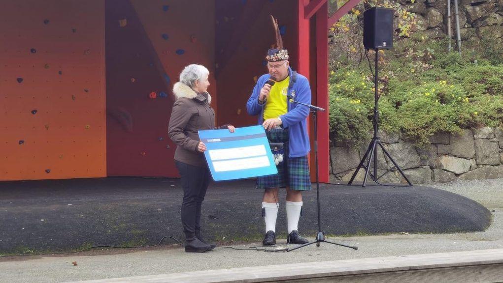 TASA gave £3,000 to Faroese charity Javni.